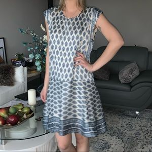 New Madewell silk casual dress